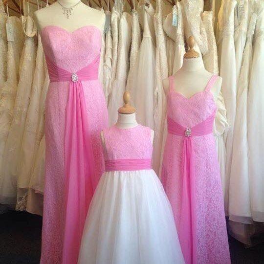 Bridesmaids,wedding,junior, flower girl, pink