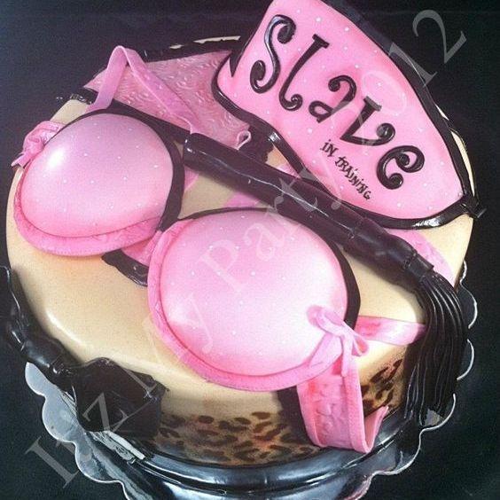 Custom Love Slave Bachelorette  Cake Milwaukee