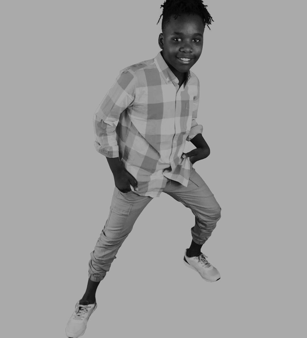 Kaadir Eric is a child model