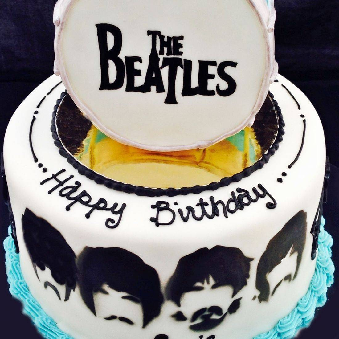 Custom  Beatles Cakes Milwaukee