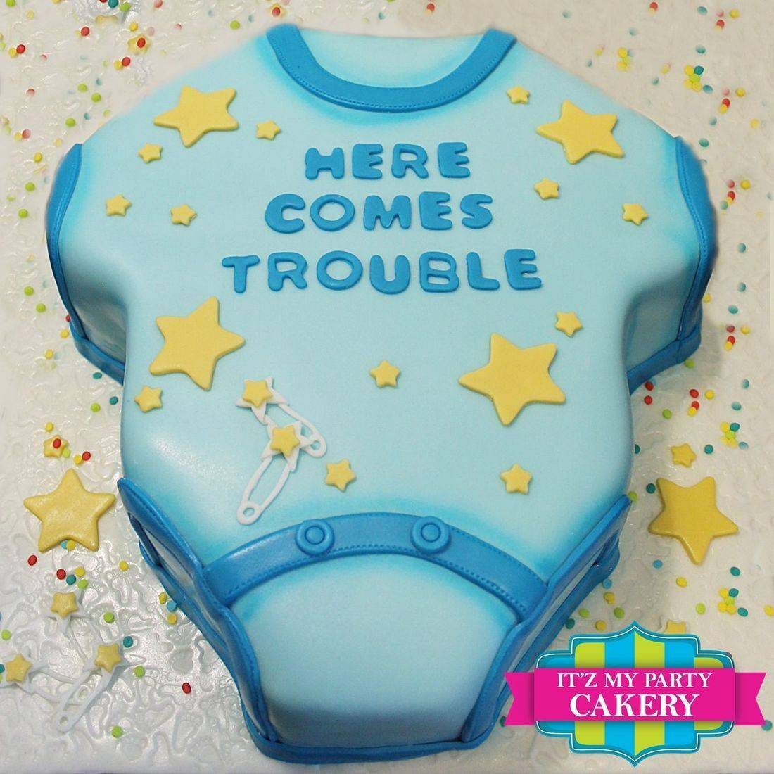 Baby Onesie Cake Carved Dimensional Cake Milwaukee