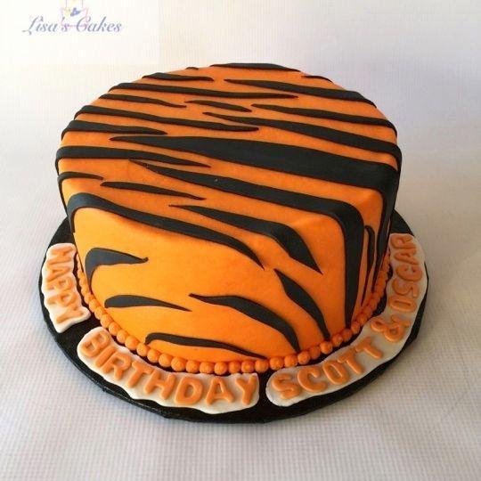 Cincinnati Bengals Who Dey Cake