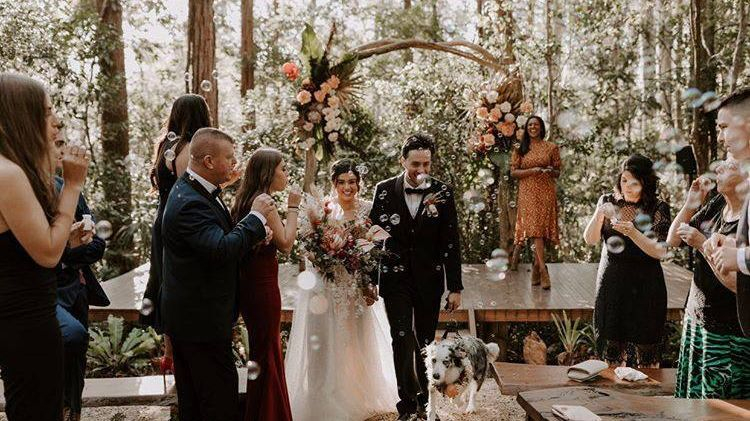 Forest Chapel Wedding Ceremony Celebrant