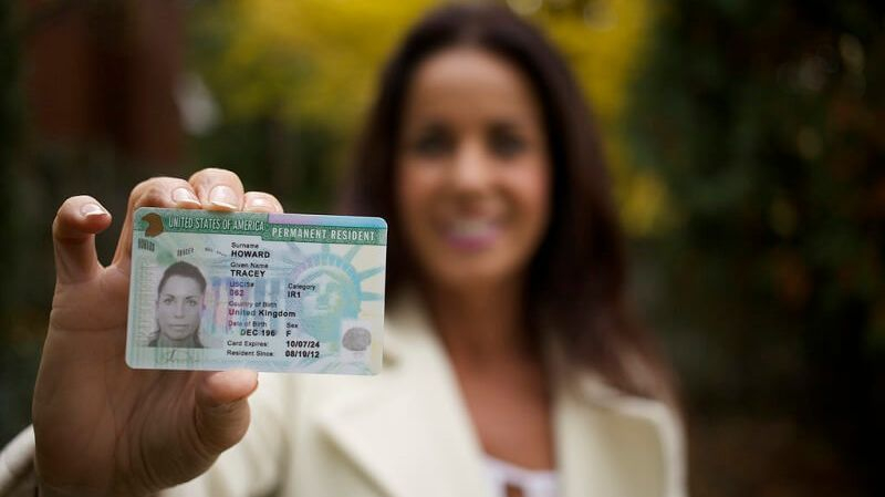 Fingerprinting for Green Card applications for United States