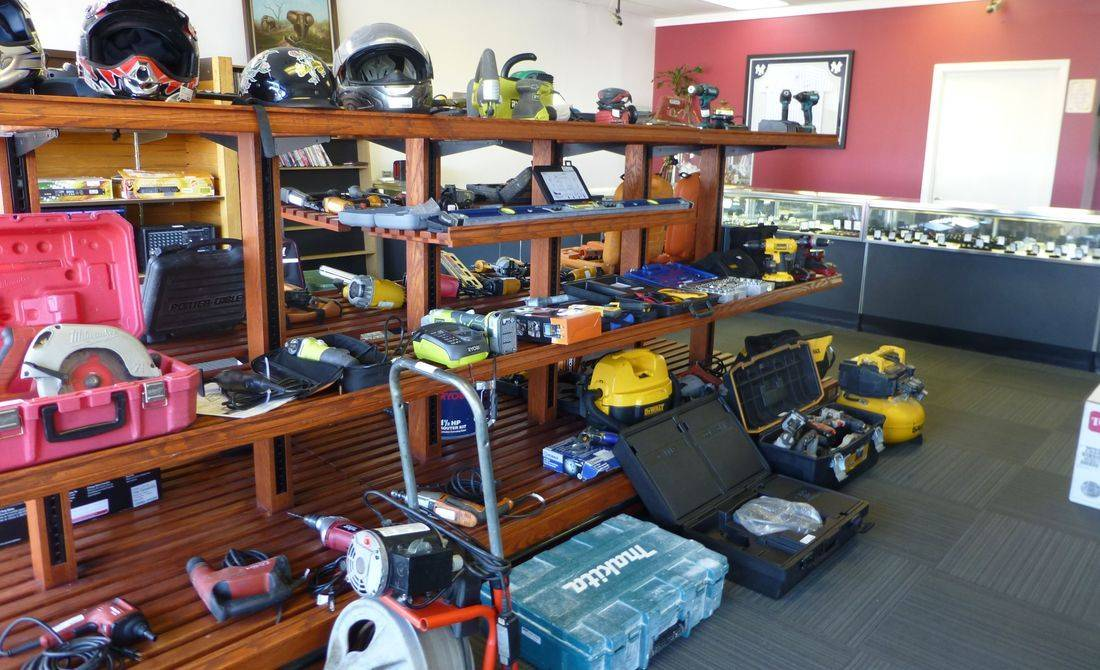 Pawn Loan Tools, Sporting Equipment And Jewelry On Display At Kempsville Pawn