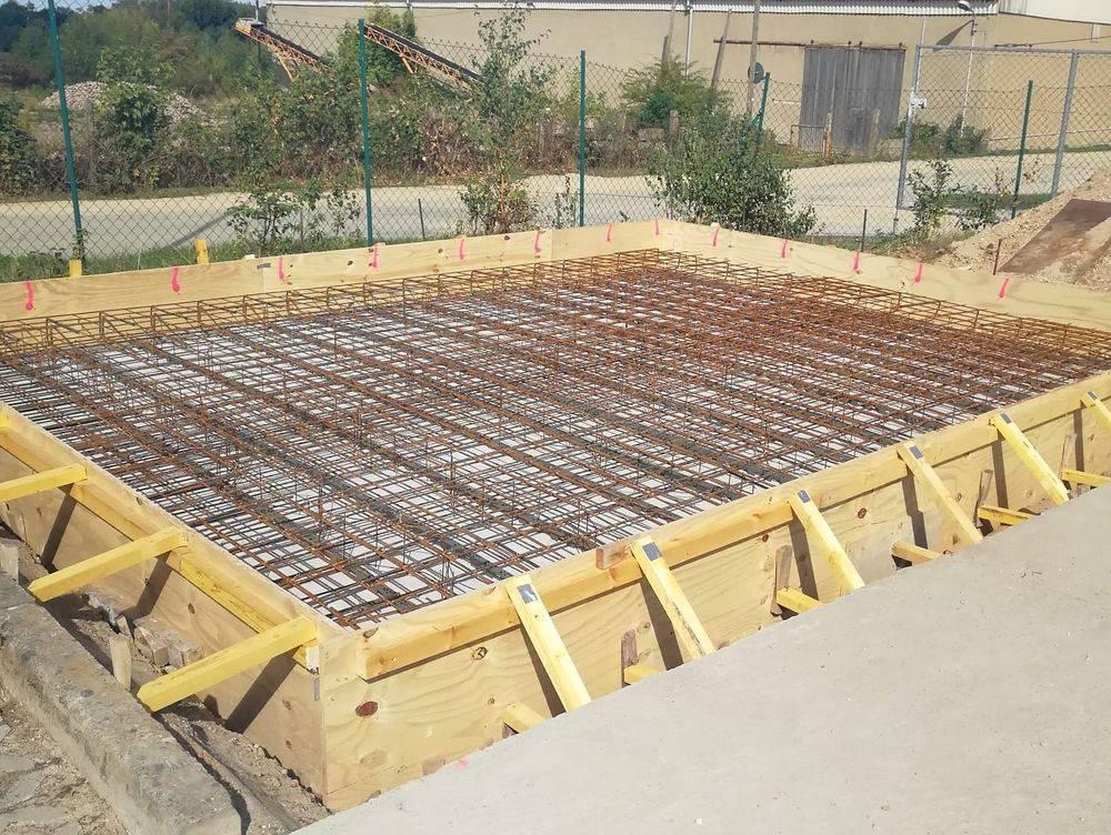 Betonarbeiten, Bodenplatte, Beton, Schalung, Baubetreuung Zwickau, Bauunternehmen, Baufirma