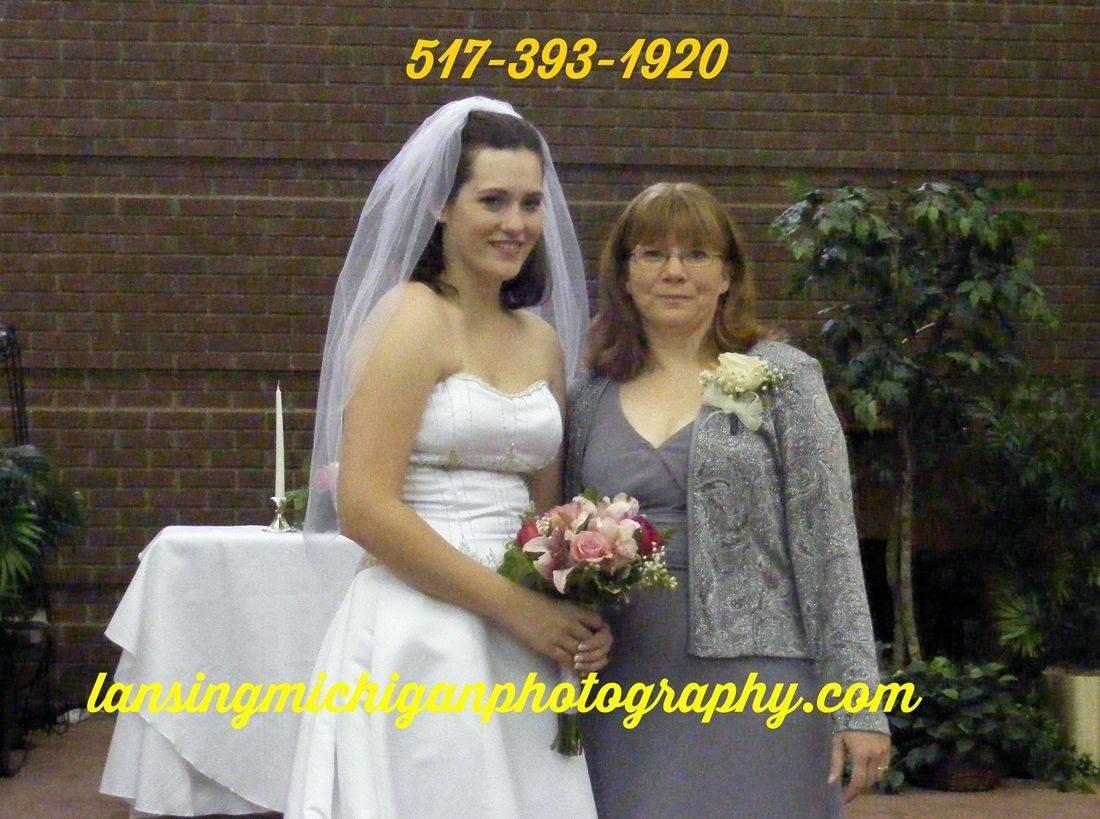 bridal photography  lansing mi