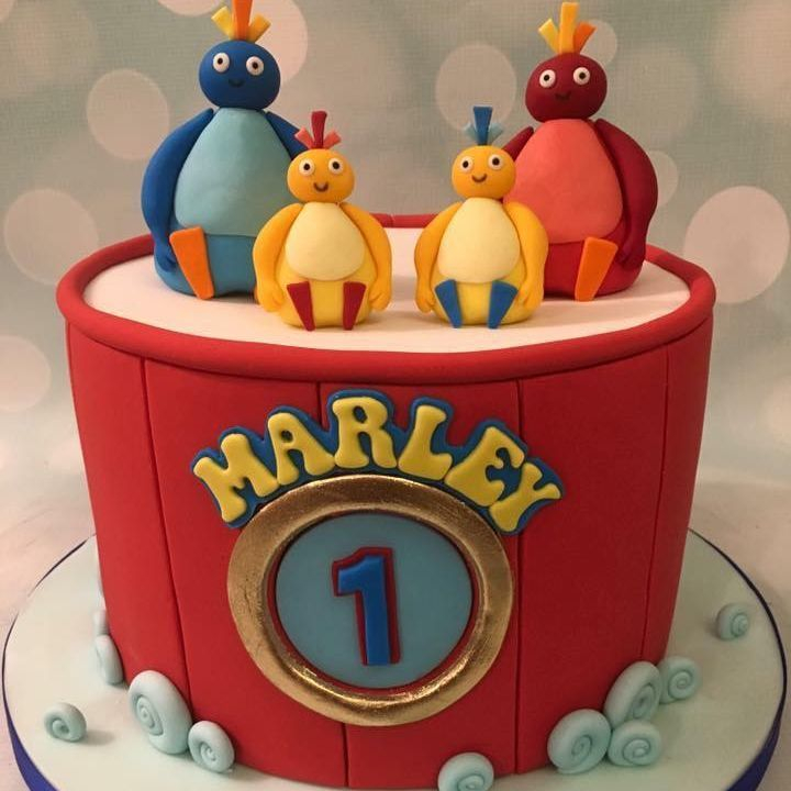 Twirlywoos Birthday Cake 1st first