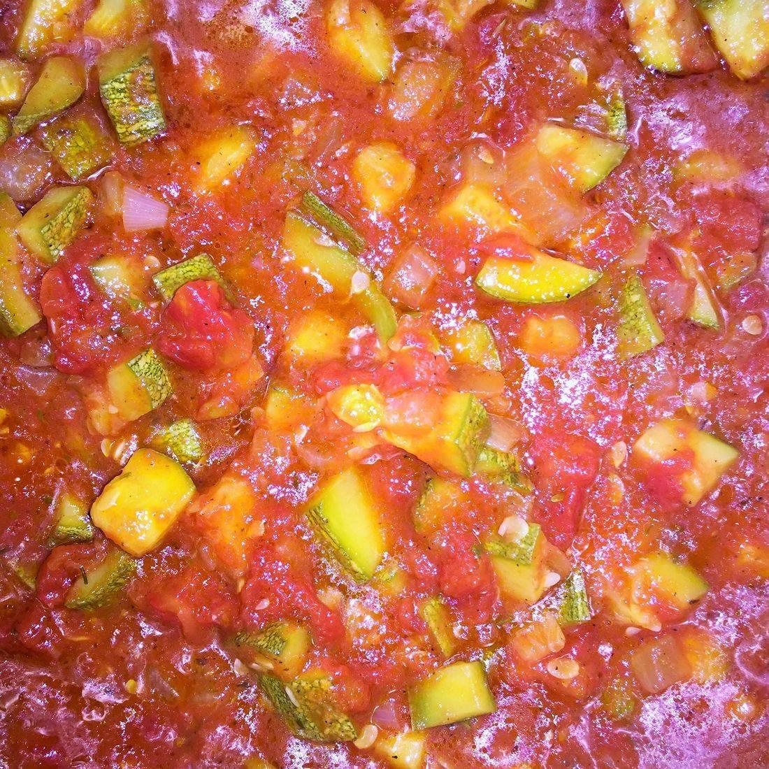 zucchini and tomato dish