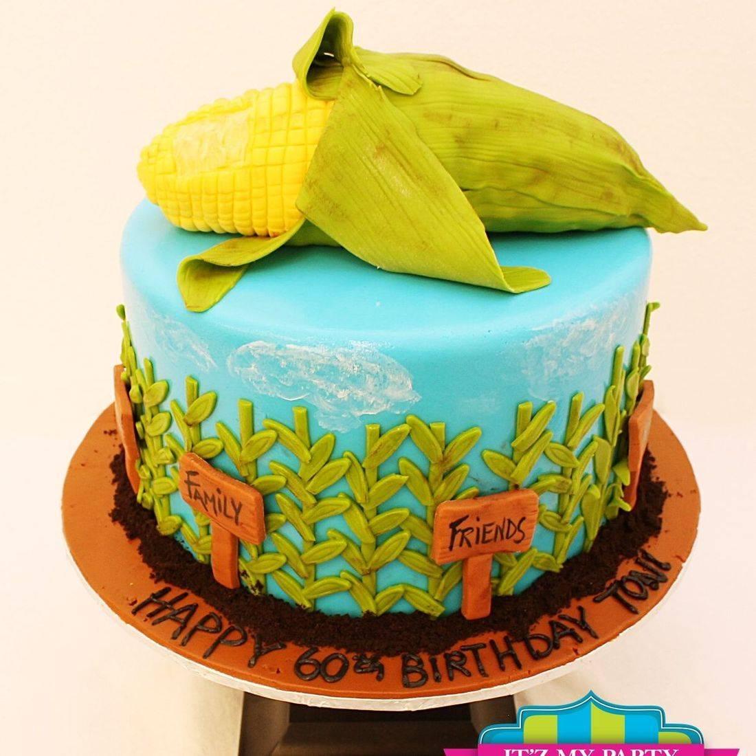 Custom Country Corn Farming Cakes Milwaukee