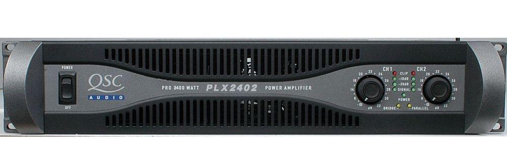 QSC PLX 2402 -2400 watt power amplifier for rent
