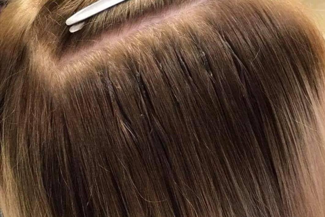 Abigail Nicholls Bonded Hair Extension Fitting