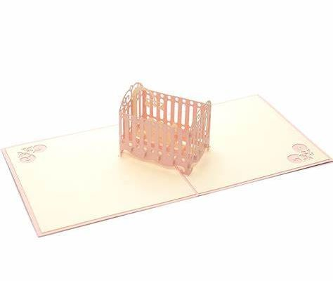 New Baby Cot (Pink)