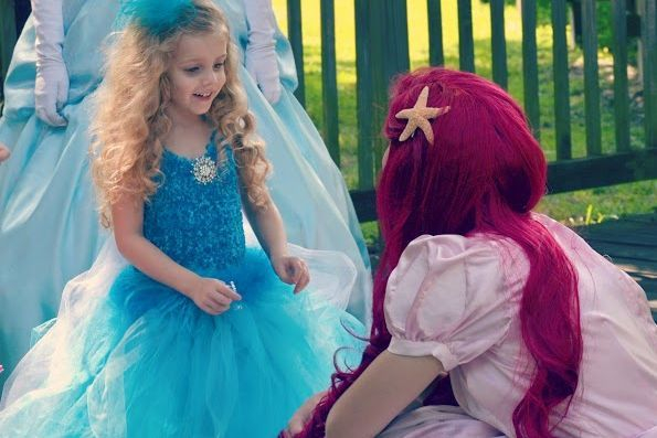 Ariel Birthday Entertainer Princess Party Gulfport
