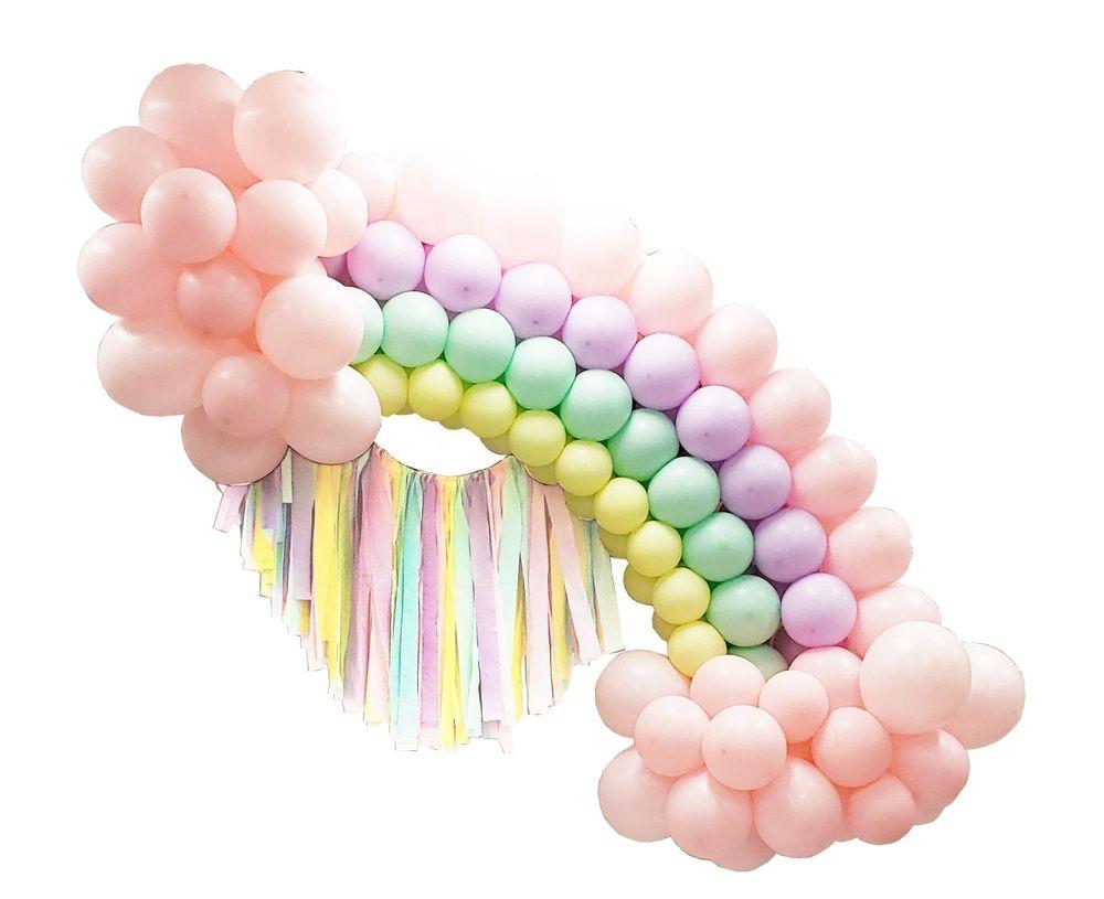 Rainbow Ribbon Arch
