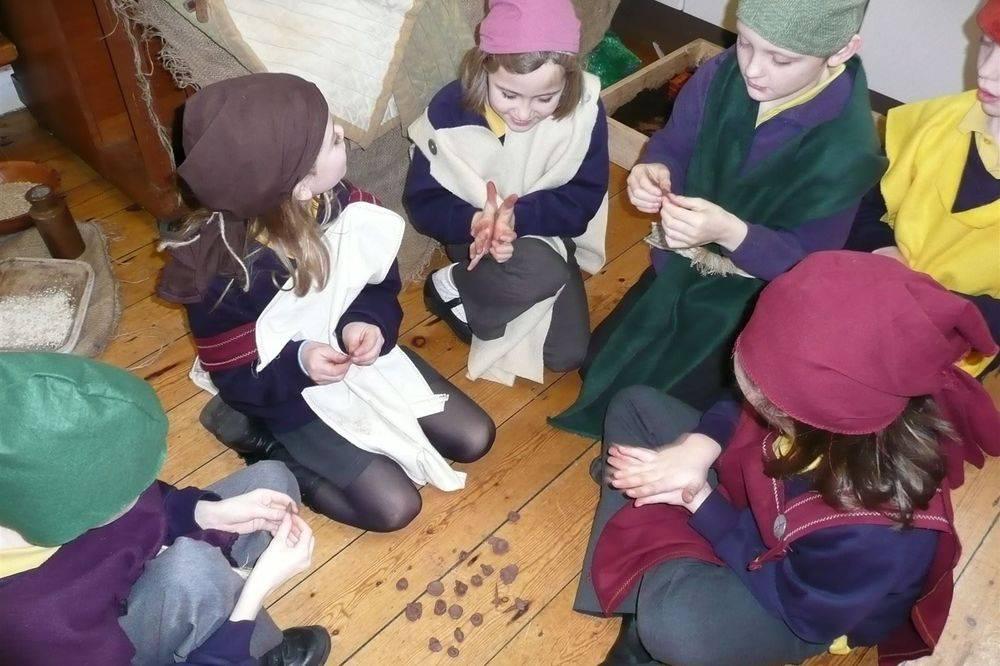 Anglo Saxon workshop for primary schools ks1 ks2