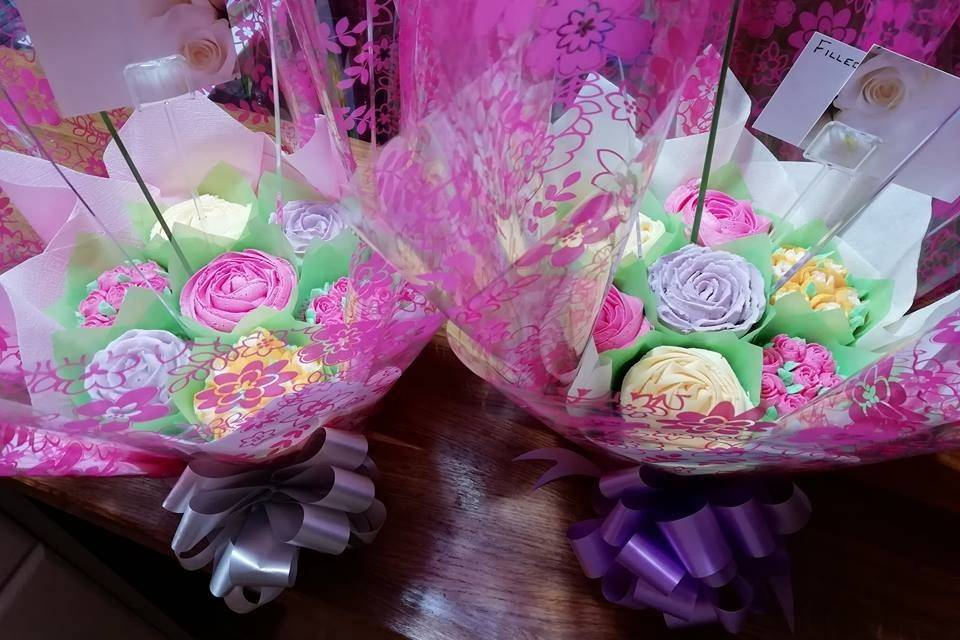 2 Pink Bouquets