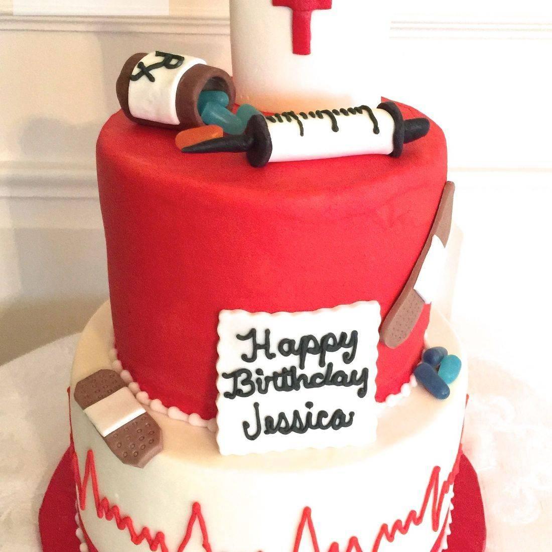 Nurse Cake, Medical Cake