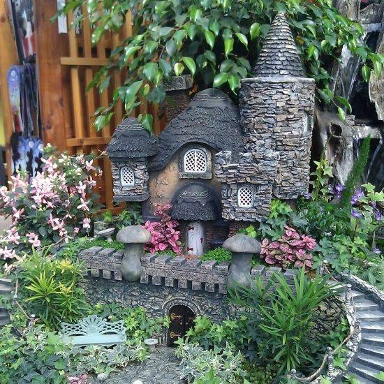 fairy house, fairy garden, fairy plants