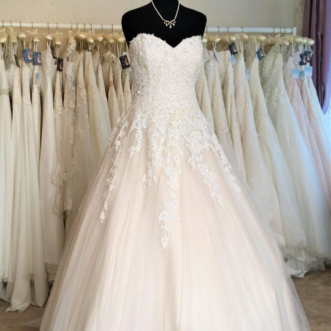 sweetheart ballgown wedding dress