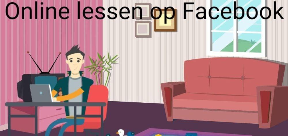 2 uur livesessie op Facebook €50,-