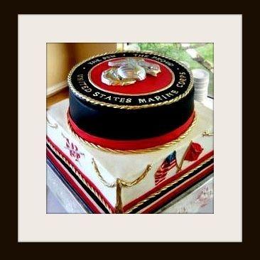marines cake us marine corps cake military cake semper fi cake