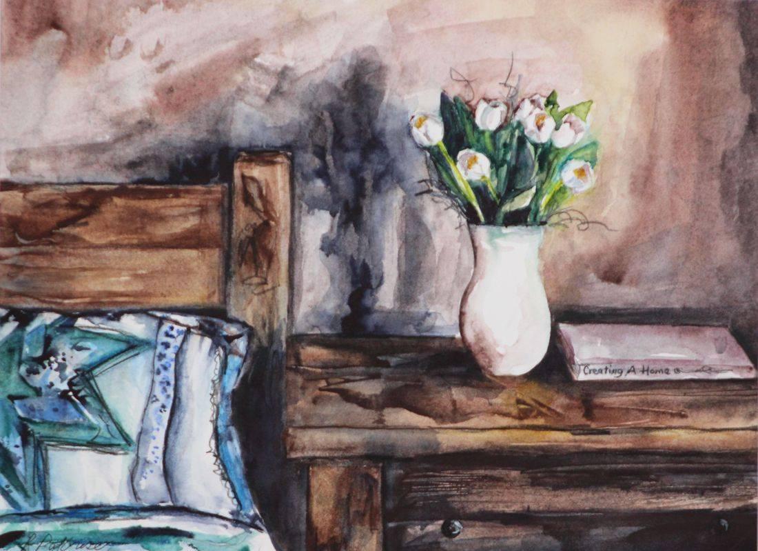 R Putbrese watercolor by Becky/Rebecca Krutsinger
