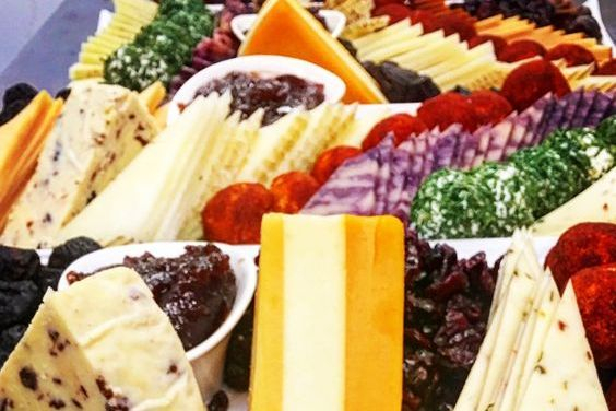 French & International cheese platter by Arista