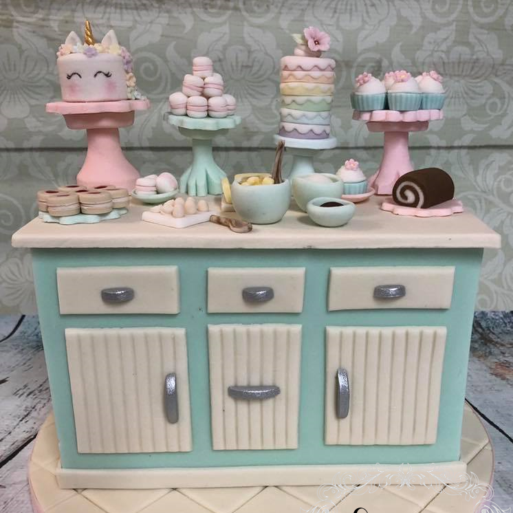Birthday Cake Novelty Kitchen