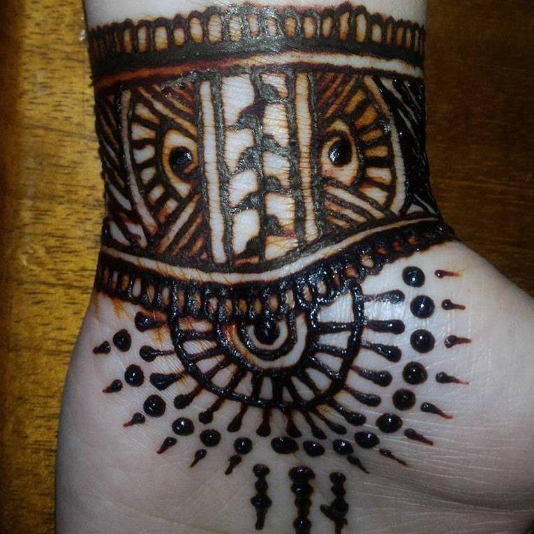 #Henna #Tribal #HennaTattoo #JaHenna