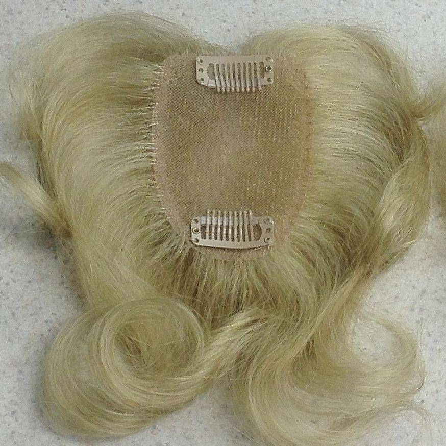 hairpiece wig topper fine thin hair invisible monofillament lacefront