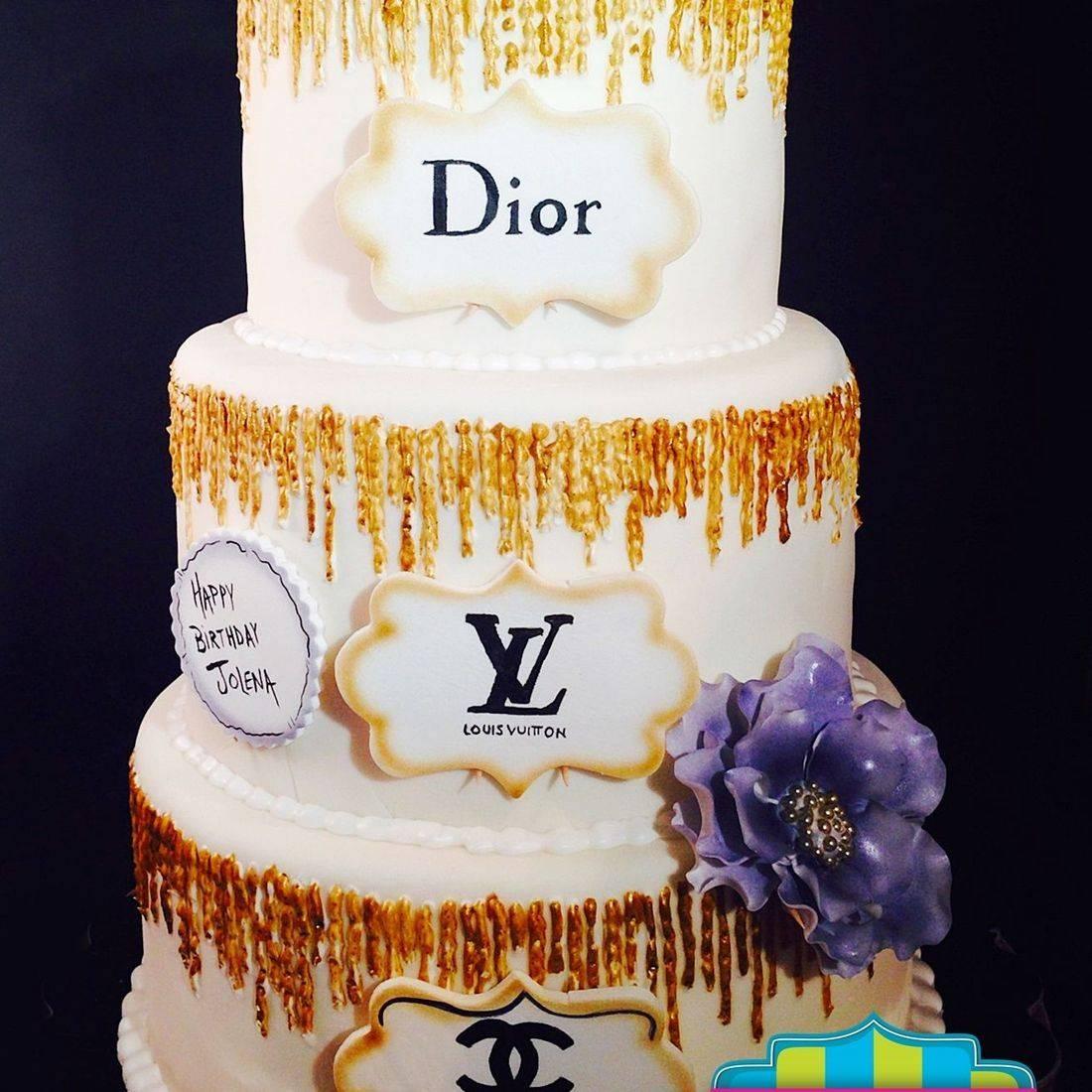 Custom Designer sparkle Cake  Milwaukee