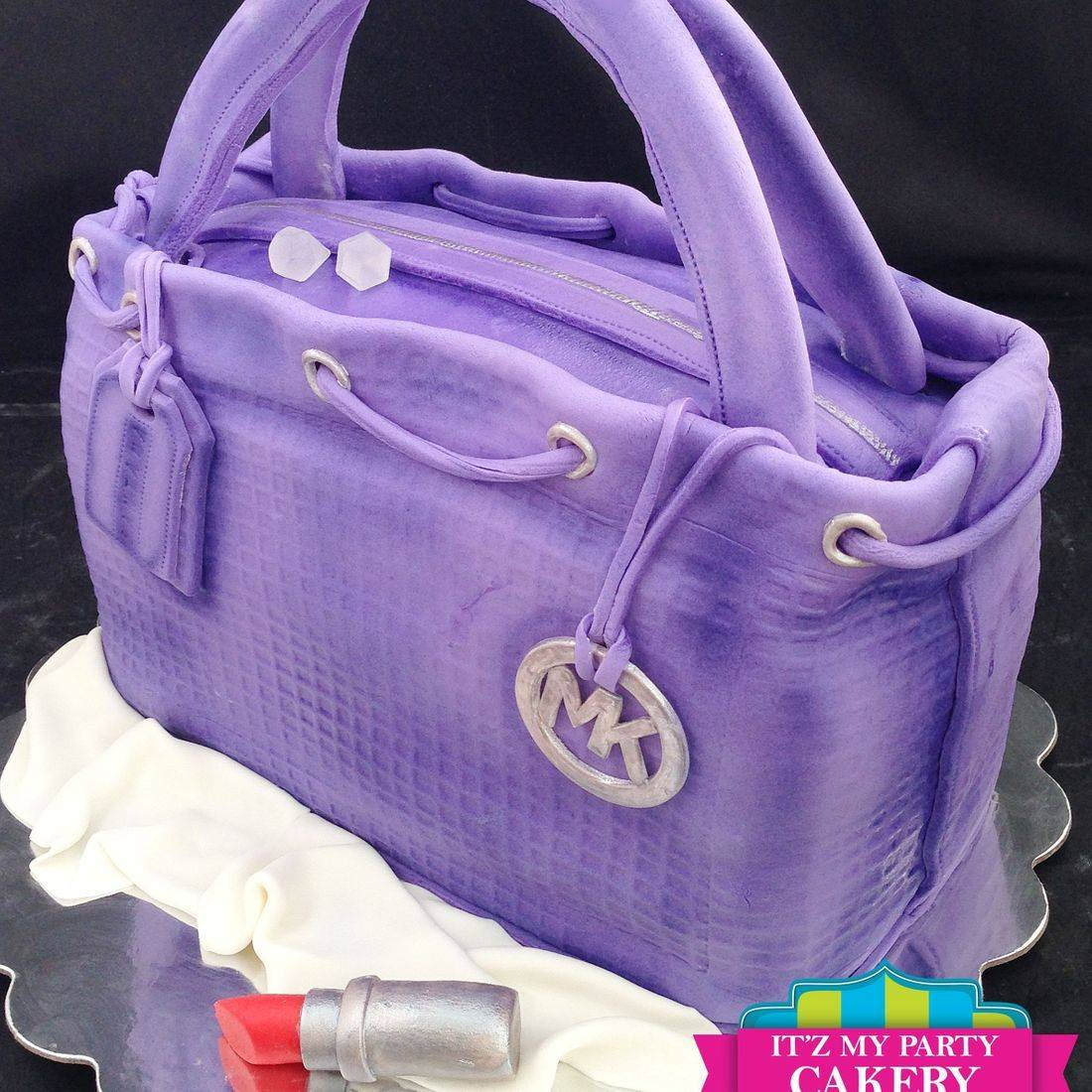 Purse MK Carved Dimensional Cake Milwaukee