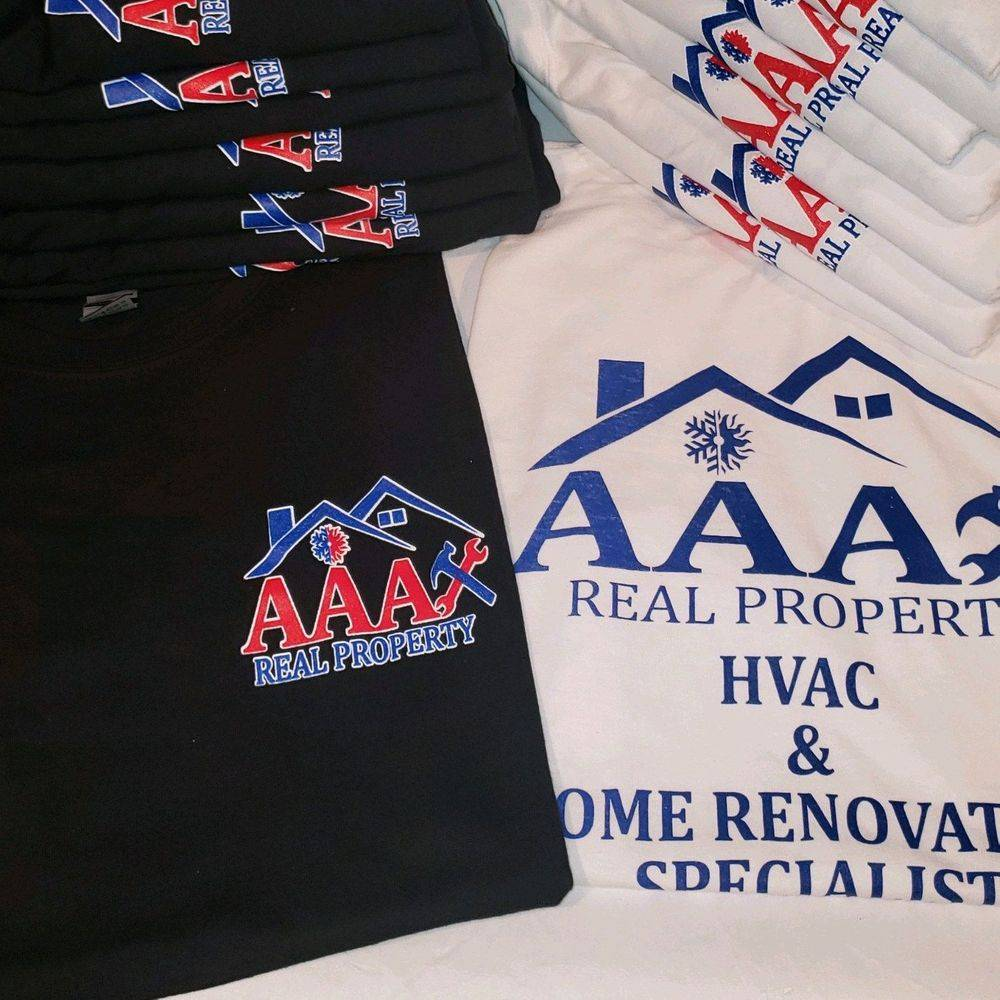 Small business, branding, print, screen print, t-shirts, uniforms, work apparel