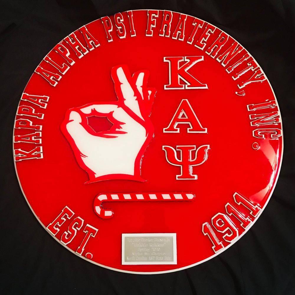 Kappa Alpha Psi Plaque