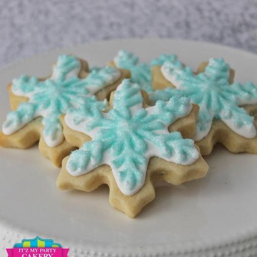 Snowflake cookies Milwaukee