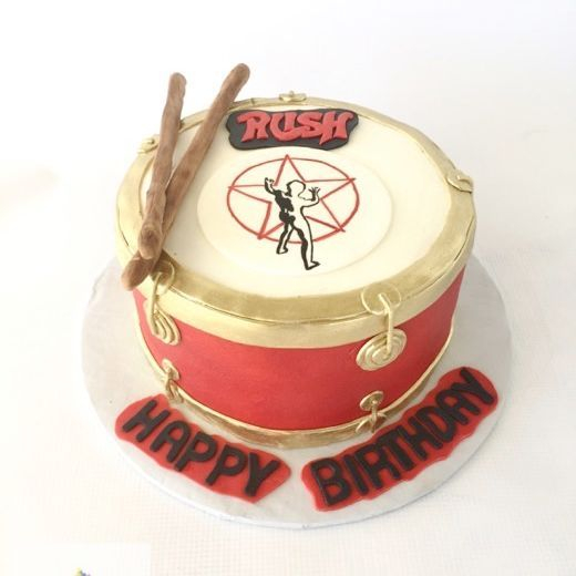 Rush Birthday Cake