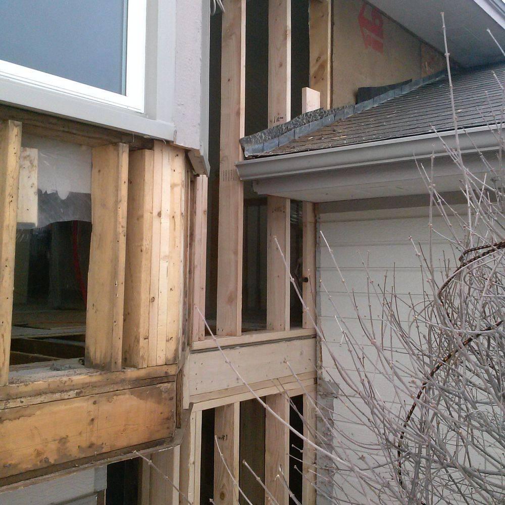 Jer Bear Homes | Roseville | Water Damage | During