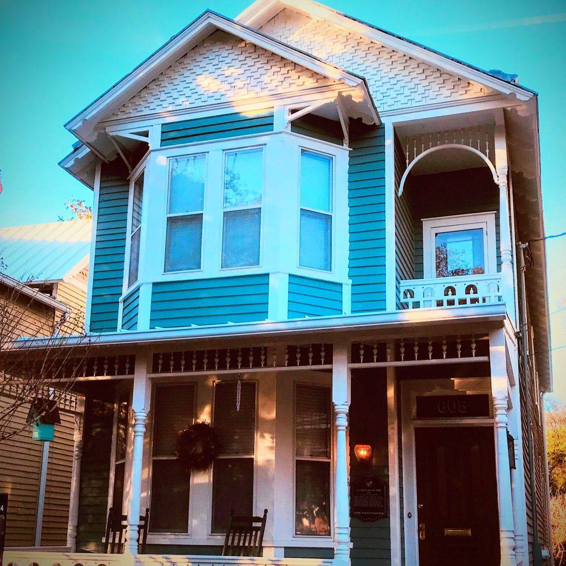 Exterior, Painting, Wilmington NC, historice homes, downtown