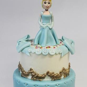 Custom Cinderella Princess Cake Milwaukee