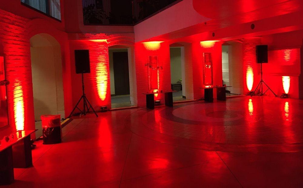 San Antonio Audio Visual Company, Direct Motion Technologies, Equipment Rentals, Uplighting Rentals