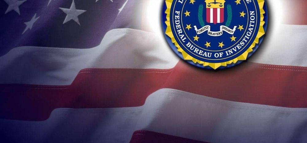 FBI and Flag Symbols