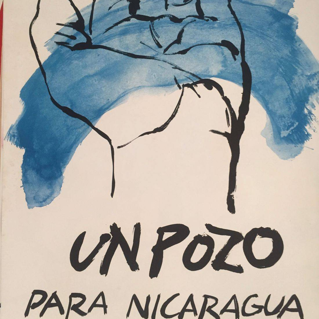 José Balmes, poster signed, Paris, 1983