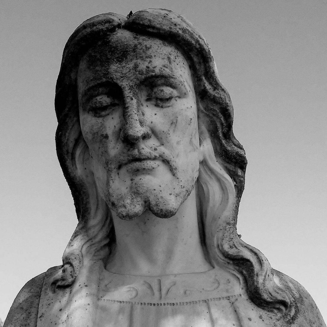Cemetery, Religion, Statue, Jesus, God