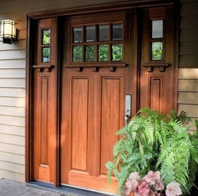 Pella Craftsman Entry Door