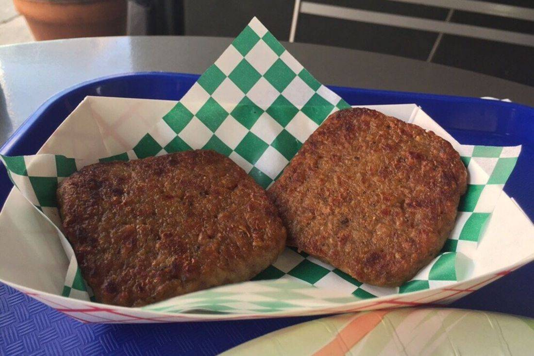 Vegan Apple Patties