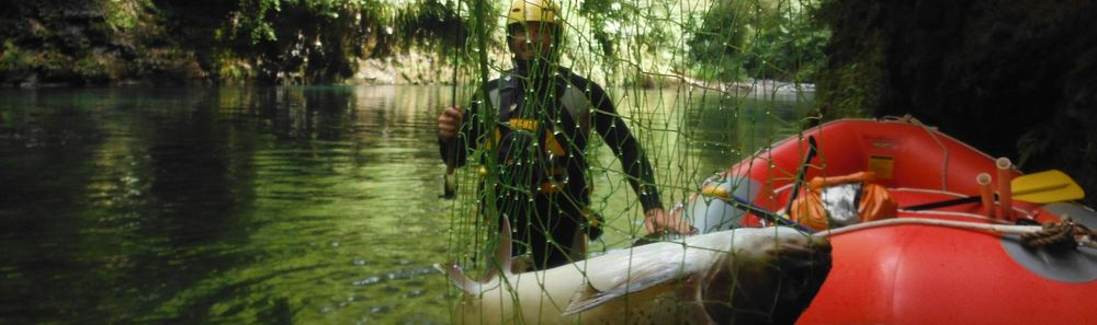 Raft Fishing to remote wilderness areas