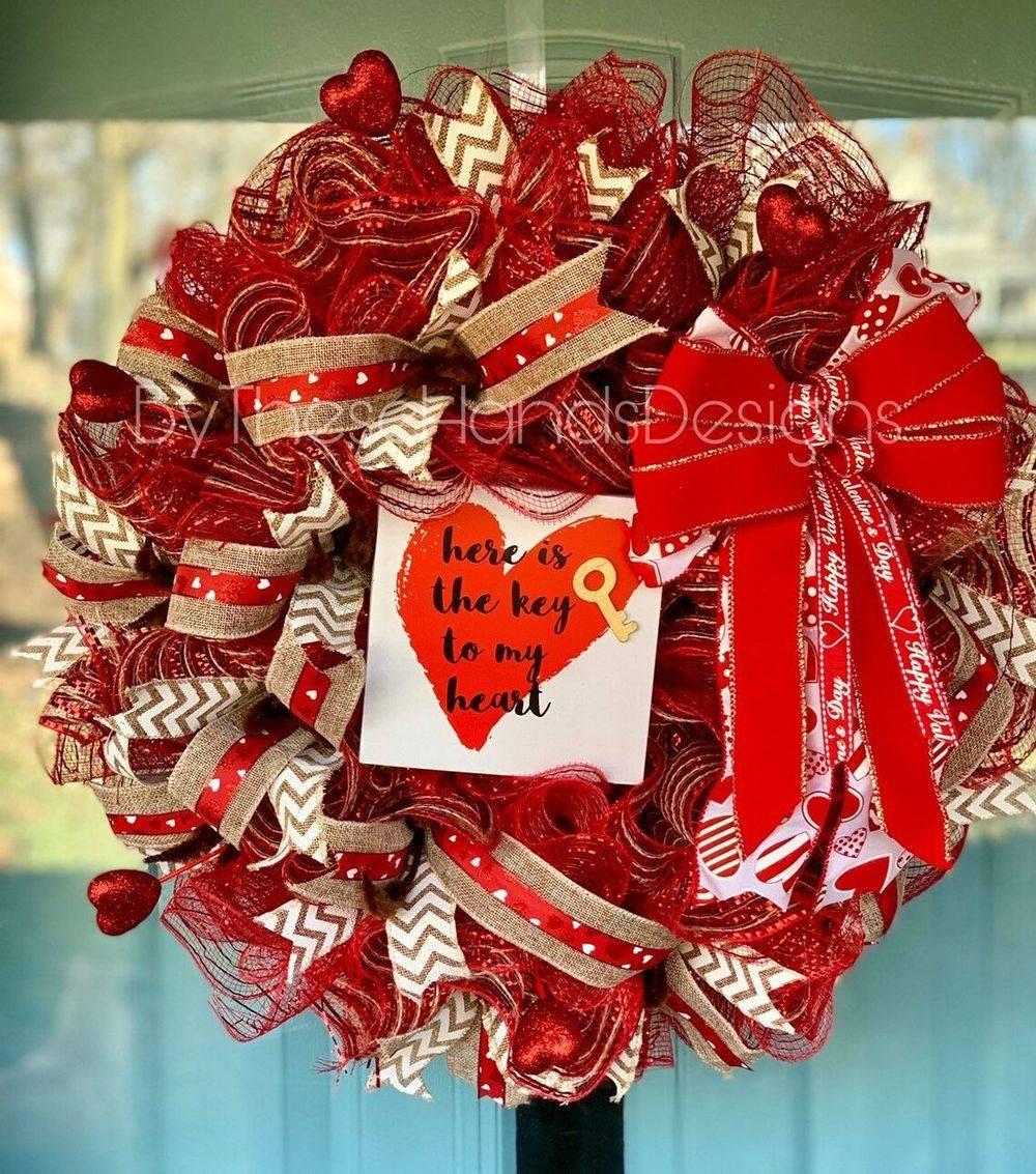 Love Homemade Wreath
