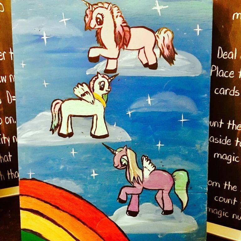 Unicorn Toss Game
