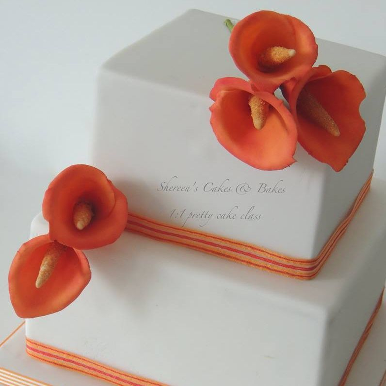 1:1 1 to 1 Group Class Cake Decorating Teaching Roses Pretty Cake Tutorial